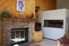 Fireplace/Kitchen View